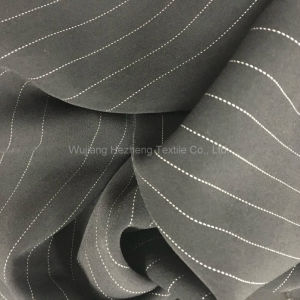 Hzf658 Stripe Polyester Stretch Chiffon for Dresses pictures & photos