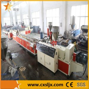 PE, PP, PVC Wood Plastic Profile Extrusion Line pictures & photos