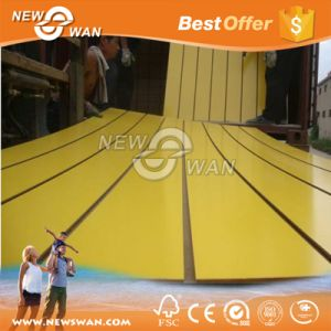 17mm Slotted MDF Panel / Grooved MDF Board pictures & photos