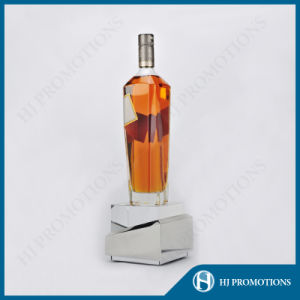 High Quality Crystal Wine Bottle Display Base (HJ-DWL03) pictures & photos