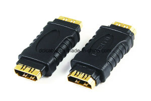 HDMI Female to Female Adapter pictures & photos