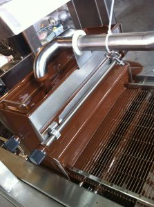 New Condition Cookies Chocolate Covering Machine pictures & photos