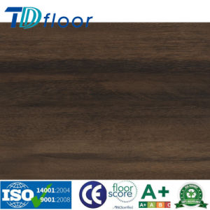 Dark Brown Durable PVC Vinyl Flooring pictures & photos