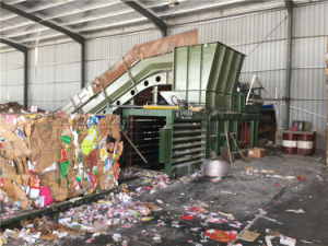 Hpm250 Horizontal Paper/Plastic Baler pictures & photos