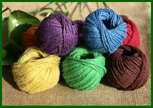 Colorful Dyed Jute Twine for Carpet Making pictures & photos