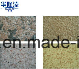 Hualong Waterproof Exterior Natural Stone Paint pictures & photos