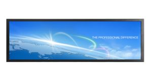 21.5 Inch 1/3 Special Size Advertising Player Ultra Wide Horizontal Bar LCD Stretched Bar Display pictures & photos