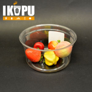 Disposable Salad Plastic Bowl with Plastic Lid pictures & photos