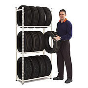 Mobile Adjusted Auto Tyre Racks pictures & photos