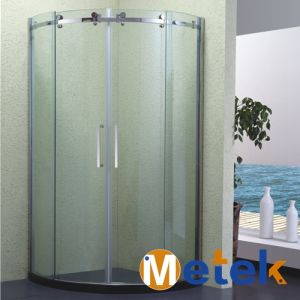 Frameless Stainless Glass Sliding Shower Door and Enclosure Hardware pictures & photos