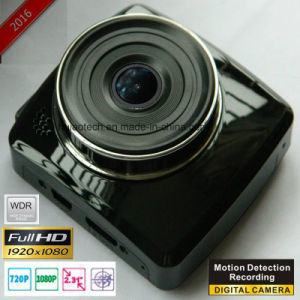 Popular Factory Car DVR Digital Vide Recorder for Sale with H264. MOV Car Black Box, 5.0mega Car Camera, Motion Dection, G-Sensor DVR-2415 pictures & photos