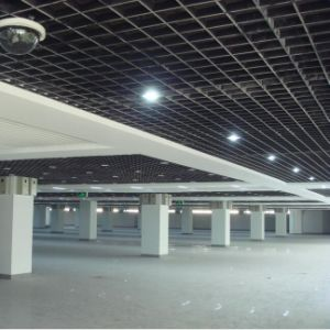 Interior Design Suspended Open Grille Cell Ceiling with Aluminum Alloy Material pictures & photos
