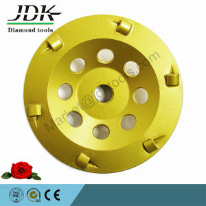 "100mm "" Quarter Round PCD Grinding Cup Wheel pictures & photos"