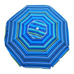 7 FT Premium Heavy Duty Fiberglass Beach Umbrella Upf 100+ pictures & photos