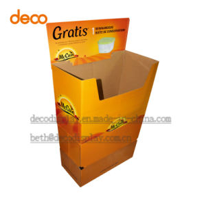 Corrugated Paper Box Cardboard Counter Pop Display PDQ Box pictures & photos