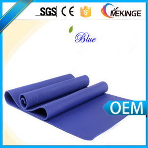Cheap Non-Toxic Custom PVC Yoga Mat with Strap pictures & photos