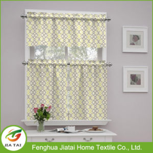 New Curtain Design Kitchen Polyester Kitchen Window Curtain with Custom Patterns pictures & photos