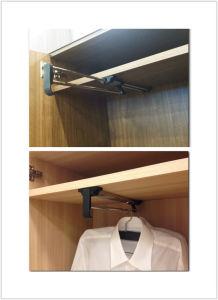 Wardrobe Clothes Hanger Telescopic Clothes Rack pictures & photos