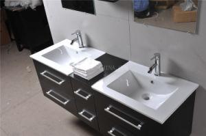Solid Oak Wood Bathroom Vanities pictures & photos