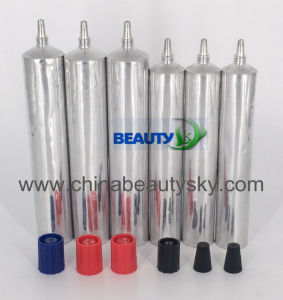 Long Nozzel Flexible Packaging Aluminum Tube pictures & photos