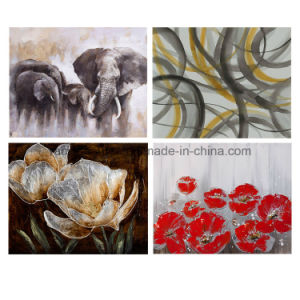 Modern Canvas Printing Abstract Oil Canvas Painting pictures & photos