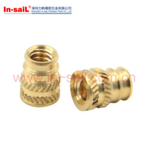 Double-Twilled Knurls Popular Brass Insert Nut for Thermoplastic pictures & photos