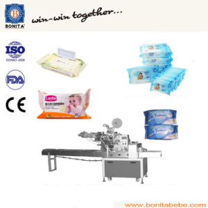 Baby Wet Wipe Production Line, Wet Tissue Manufacturing Machine pictures & photos