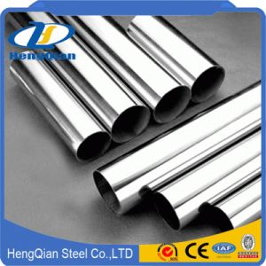 Factory ASTM Decoration Welded 201 304 Stainless Steel Pipe 0.5~2.0mm pictures & photos