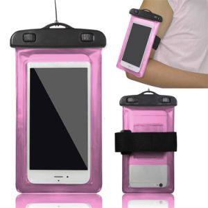 Waterproof Cell Phone Cases, Mobile Phone PVC Waterproof Bag for Promotional Gift pictures & photos