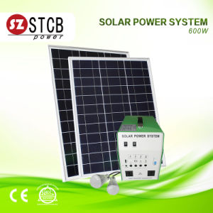 Small Solar Energy System for Home Lighting pictures & photos