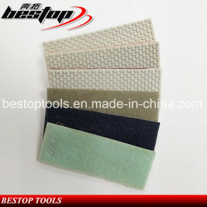 Bestop Hot Sales Resin Diamond Polishing Hand Pads for Granite pictures & photos
