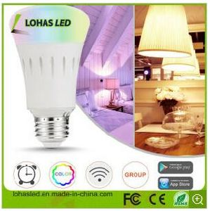Dimmable Smart LED Light Bulb Wi-Fi Controlled Bulb 50W Equivalent with Ce RoHS Listed pictures & photos