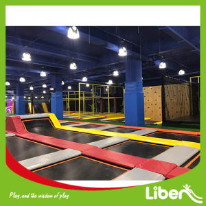 Customised Trampoline Park with Climbing Wall pictures & photos
