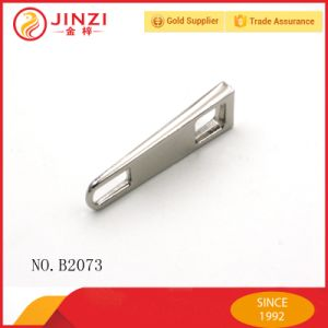 High Quality Hanging Free Nikel Zinc Alloy Hangbag Zipper Puller Factory Price-Direct Metal Zipper Sliders pictures & photos