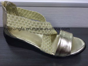 Sandal Woven Shoes pictures & photos