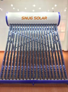 Color Steel Non Pressure Solar Water Heater with Ce Certificate pictures & photos