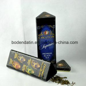 Custom Metal Tea Gift Tin Box, Metal Tea Can, Square Tin Can pictures & photos
