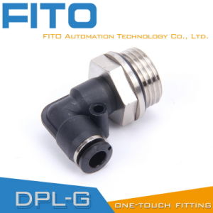 Pl Pneumatic G-Thread Fittings with Nickel Plated and O-Ring Pl8-02 pictures & photos