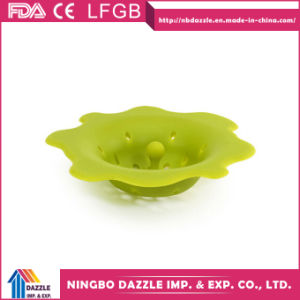 Wholesale Portable Kitchen Implement Silicone Kitchen Sink Strainer pictures & photos