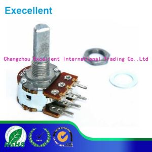 Wh148 Potentiometer B10k B20k Potentiometer D Handle pictures & photos