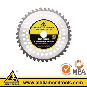 Tct Circular Saw Blade for Grass Cutting pictures & photos