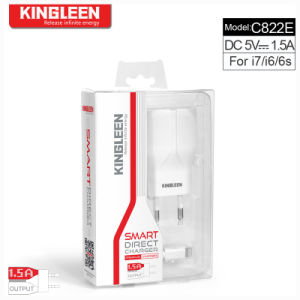 Kingleen Model C822e Charger Micro/ Smart Direct Charge 1.2m Wire 5V1.5A Factory Direst Export to Europe pictures & photos