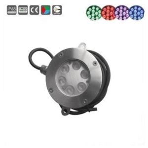 Marine 6X3w IP68 LED Swimming Pool Lighting pictures & photos