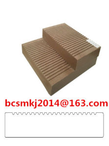 Crack-Resistant Waterproof WPC Composite Decking for Exterior Use Floor