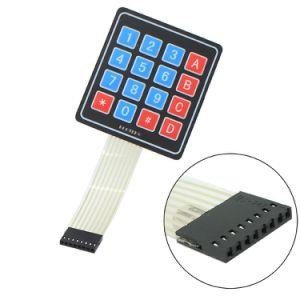 4*4 Matrix 16 Keys Nontactile Membrane Switch pictures & photos