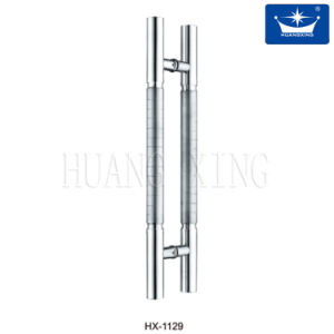 H Type Stainless Steel Glass Door Handle pictures & photos