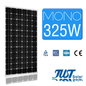 325W Mono Solar Panel with Certification of Ce CQC and TUV