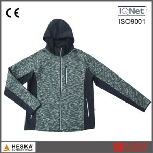 Wholesale New Style Privite Label Popular Mens Fashion Knitted Fleece Jacket pictures & photos