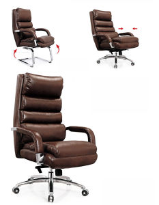 Luxury Brown Color Salon Eames Lounge King Chair (NS-6C024) pictures & photos