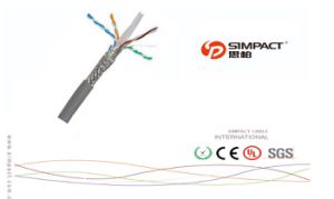 Top Selling SFTP CAT6 Cable pictures & photos